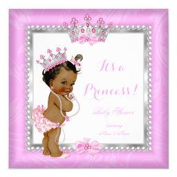 Ethnic Princess  Pink Silver Pearl