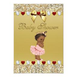 Ethnic Princess Gold Faux Sequins and Bow