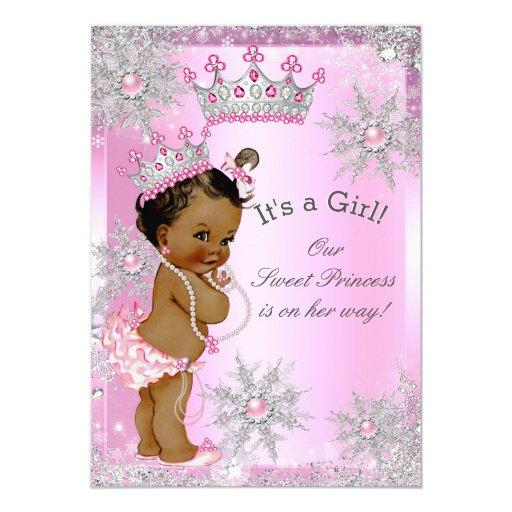 African-American Baby Shower Invitations ...