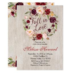 Fall In Love Baby Shower