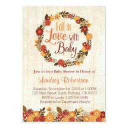 Fall in Love with Baby Shower