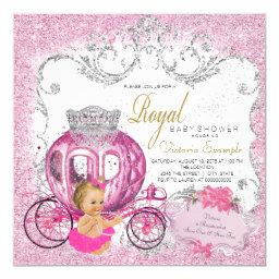 Fancy Little Princess Fairytale Baby Girl Shower