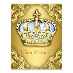 Fancy Prince  Baby Blue Gold