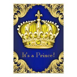 Fancy Prince  Blue and Gold