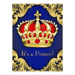 Fancy Prince  Royal Blue