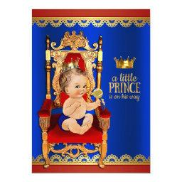 Fancy Royal Prince Baby Shower
