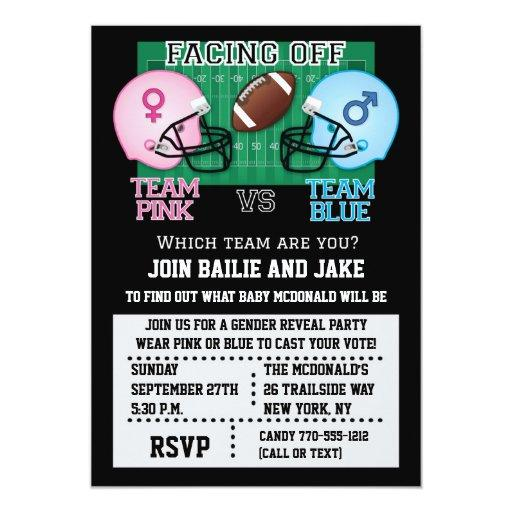 Football Gender Reveal Party