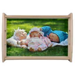 Fun Baby Doll Large Serving Tray