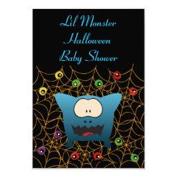Funny Monster  Invitation