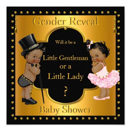 African-American Baby Shower Invitations