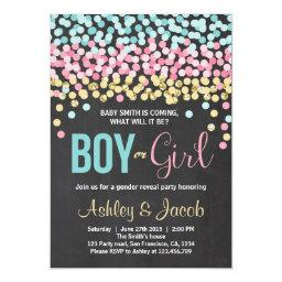 Gender reveal  Baby shower Boy or Girl