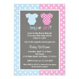 Gender Reveal Party Baby Shower