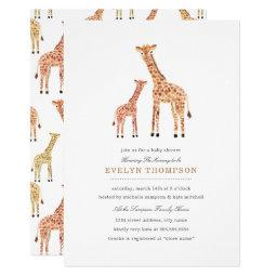 Giraffe Baby Shower