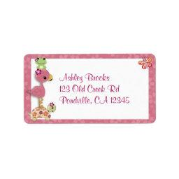 Girl TURTLE  Address Label OUP