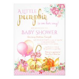 Girls Little Pumpkin Fall