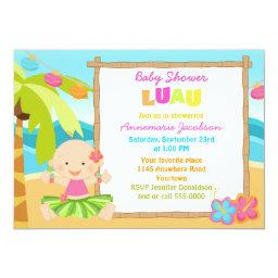 Girls Lua Baby Shower