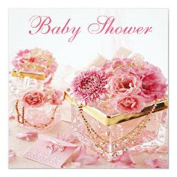 Glamorous Jewels, Pink Flowers & Boxes
