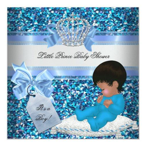 Glitter  Boy Blue Little Prince Crown 2