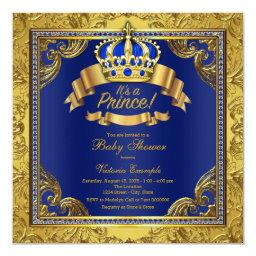 Gold Crown Royal Blue Prince