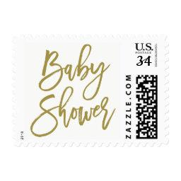 Gold Rustic Hand Lettering  Stamp