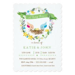 Green and Yellow Eggs | Neutral Twin Shower