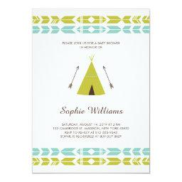 Green Tribal Teepee