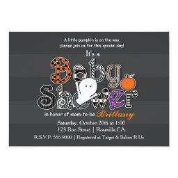 Halloween BABY SHOWER Modern Chic