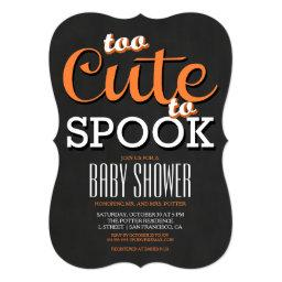Halloween Baby Shower Party
