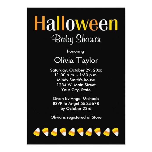 halloween baby shower invitations babyshowerinvitations4u