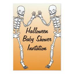 Halloween Skeleton Baby Shower