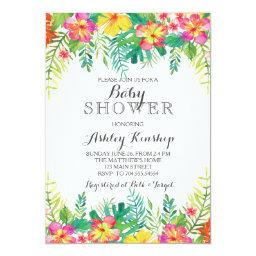 Hawaiian Tropical Baby shower
