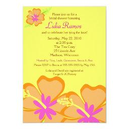 Hibiscus Flower Tropical  Invite