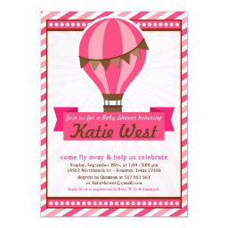 Hot Air Balloon Baby Shower Party