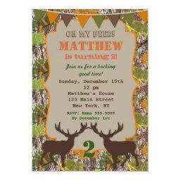 Hunting Camo Birthday Party