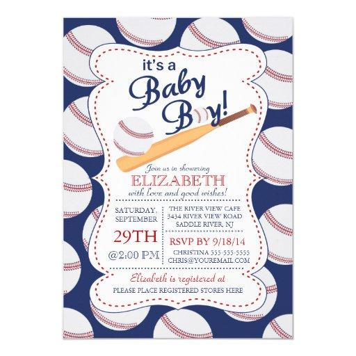 It's a Baby Boy Baseball