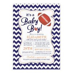 It's a Baby Boy Football Baby Shower