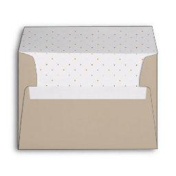 Jungle Dots Invite Envelopes
