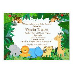 Jungle Friends Baby Shower