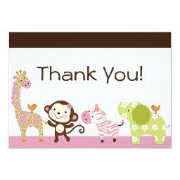 Jungle Jill / Cute Animals Thank You