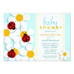 Ladybugs and Daisies Baby Shower