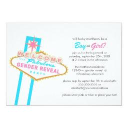 Las Vegas Sign Gender Reveal Party