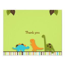 Lil Dino Dinosaur Thank You Note