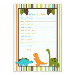 Lil Dino Dinosaur Wishes for Baby