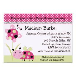 Lil Little Ladybugs Baby Shower