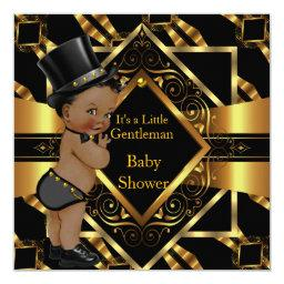 Little Gentleman  Gold Black Ethnic