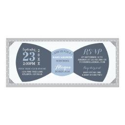 Little Man Baby Shower Invitation, Bow Tie