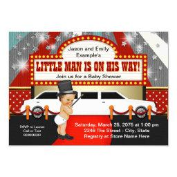 Little Man Limousine Movie Star Baby Shower