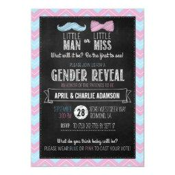 Little Man or Little Miss? Gender Reveal
