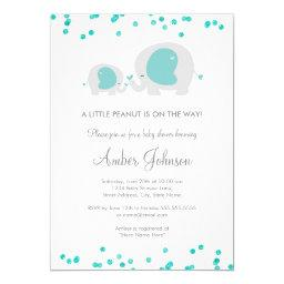 Little Peanut Blue Baby Shower
