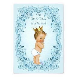 Little Prince Blue Leaves Baby Shower